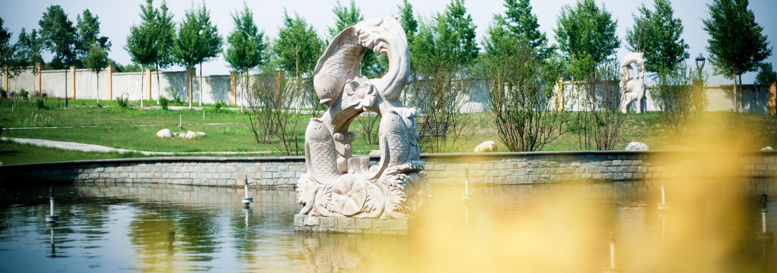 哈尔滨城市职业学院花园